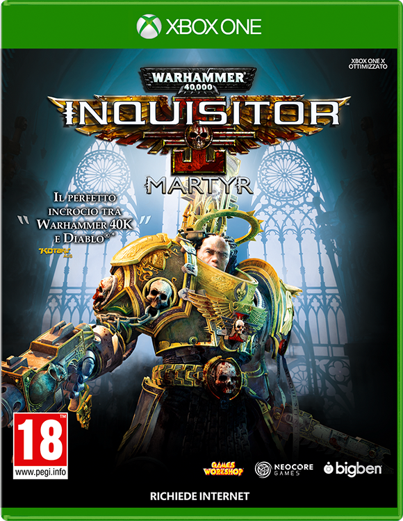 Warhammer 40,000: Inquisitor – Martyr - Packshot