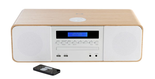 CD/MP3/USB/DAB+ micro system with wireless charger MIC201IDABBT THOMSON - Packshot