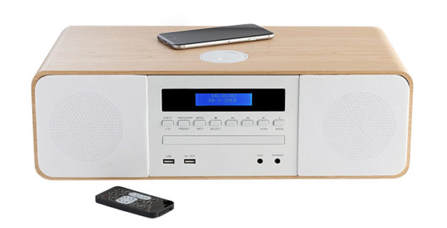 CD/MP3/USB/DAB+ micro system with wireless charger MIC201IDABBT THOMSON – Immagine