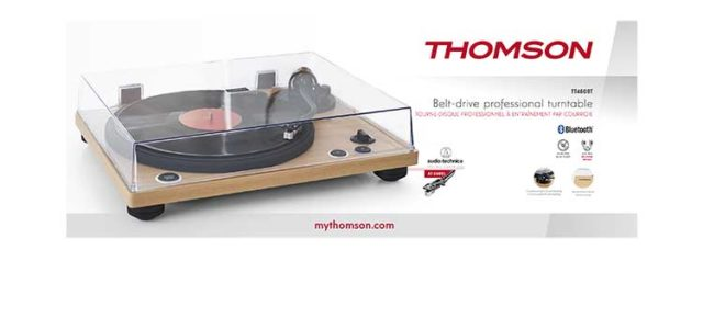 Professional turntable TT450BT THOMSON – Immagine#2tutu