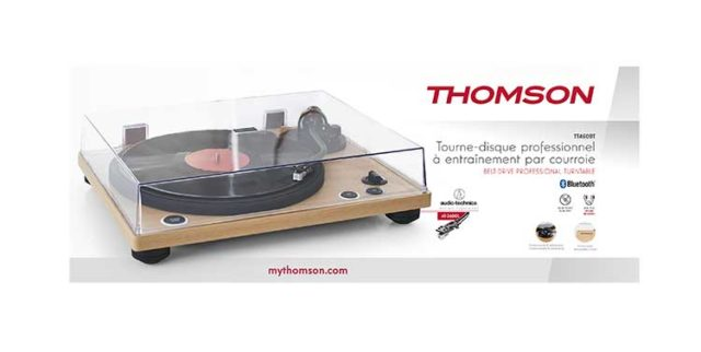 Professional turntable TT450BT THOMSON – Immagine#2tutu#4tutu