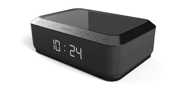 Clock radio with wireless charger RR140IG BIGBEN – Packshot