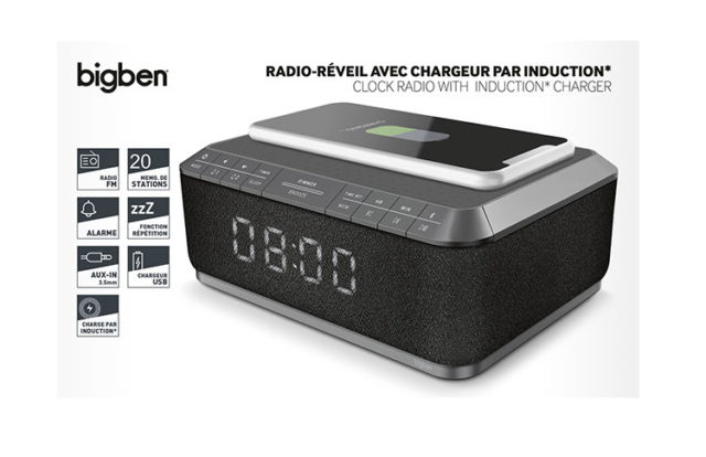 Clock radio with wireless charger RR140IG BIGBEN – Immagine#2tutu#4tutu