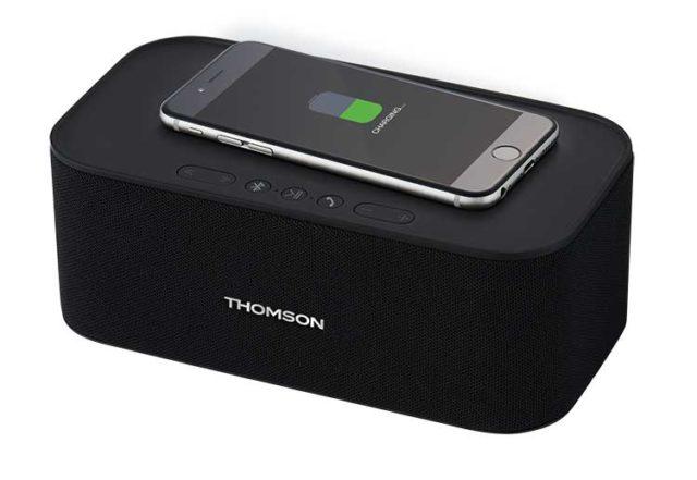 Wireless speaker and wireless charging WS06IPB – Immagine