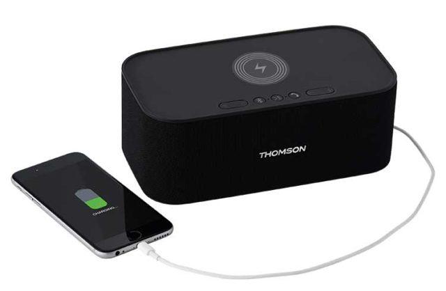 Wireless speaker and wireless charging WS06IPB – Immagine#1